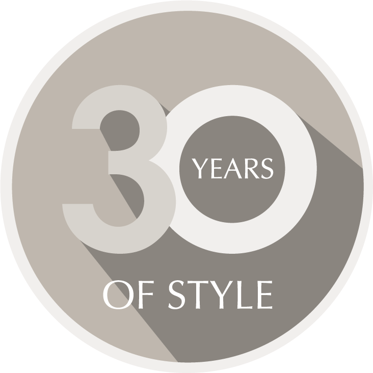 30 Years of Style seal